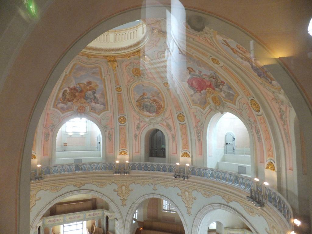 Blick ins Innere der Frauenkirche
