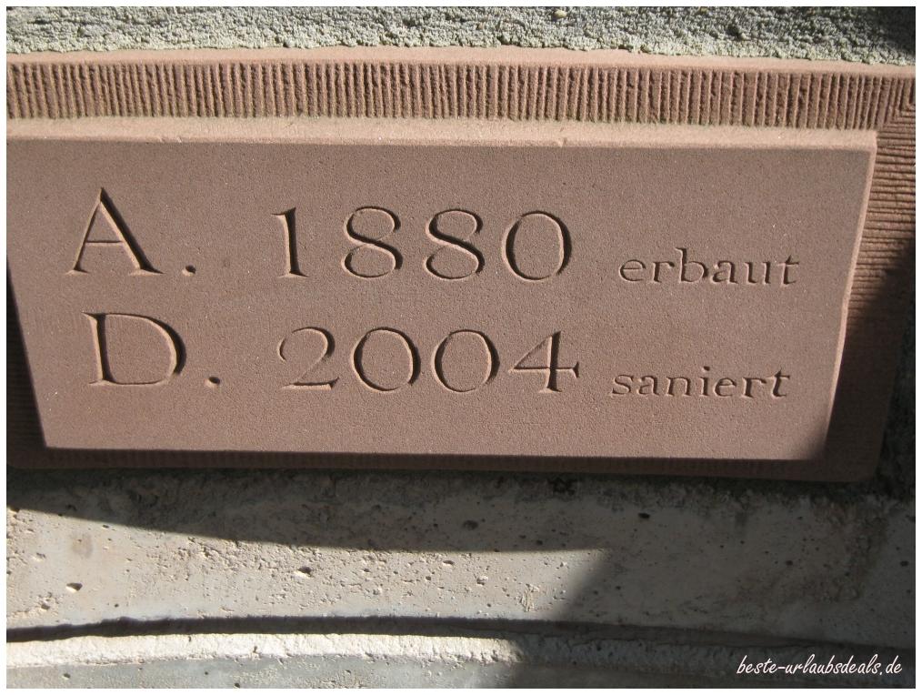 Jahresstein am Ludwigsturm