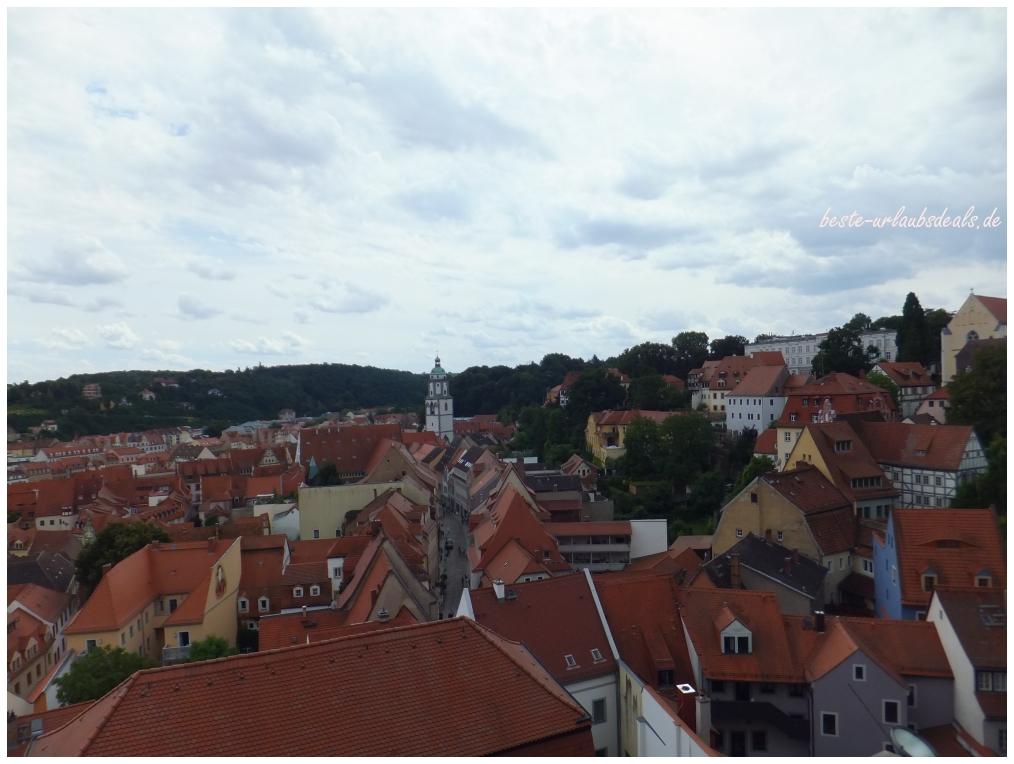Über den Dächern von Meißen