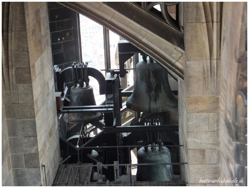 Der Glockenturm im Dom zu Meißen